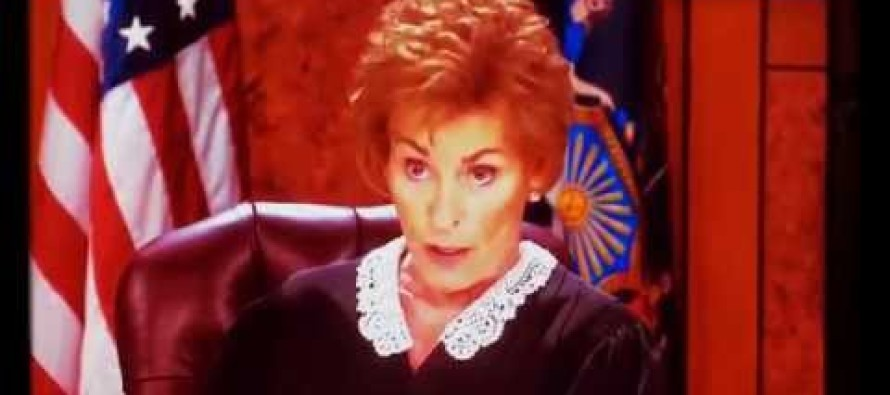 Watch Judge Judy OBLITERATE Smug Thug for Peeing on Flag