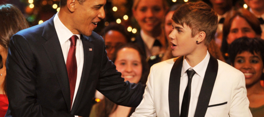Canadian Justin Bieber is the Most Powerful Man in America… Just Ask the White House