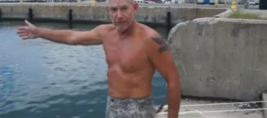 VIDEO: This Marine Shows You One Simple Trick That Will Save Your Life if You're Drowning