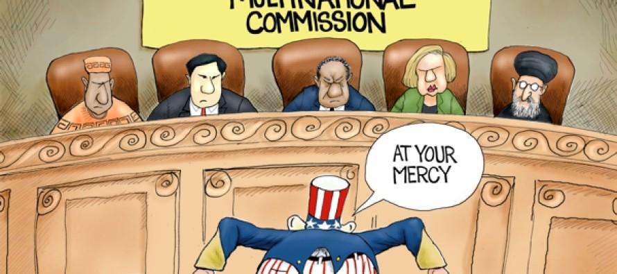 On Our Knees (Cartoon)
