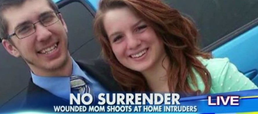 Young Mother Shot Twice in Home Invasion, Pulls Husband's Gun and Shoots Intruders [Video]