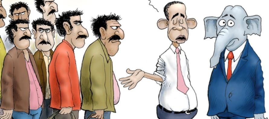 Refugee-O-Phobia (Cartoon)