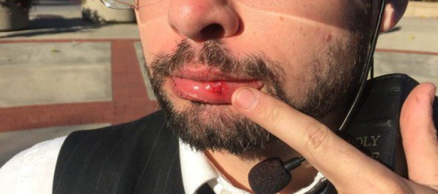 "Radical Black Activist Punches Christian Preacher in ""Free Speech Zone"" at Mizzou"