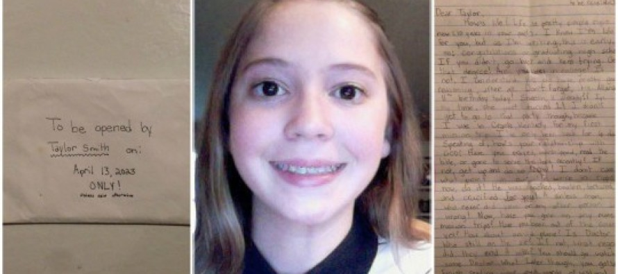 After 12-Year-Old Taylor Smith Passed Away, Her Parents Found This Heartbreaking Letter