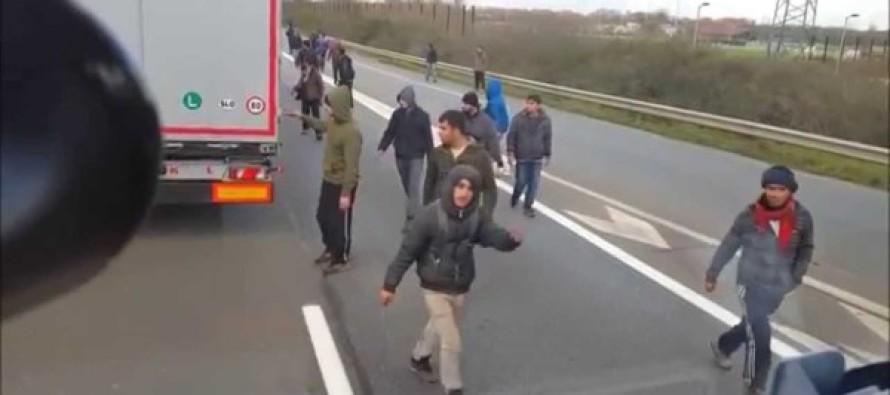 Truck Driver Gets Ambushed by Muslim 'Refugees'… He Gives Them a NASTY Surprise!