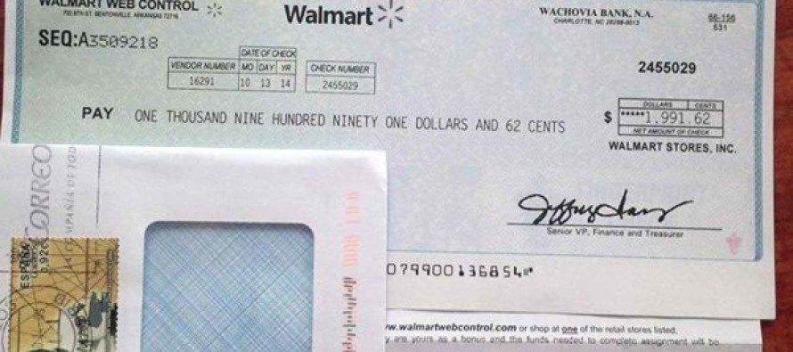 Keep an Eye on Your Mail – If You Receive a Check from Walmart, Here's What It Means