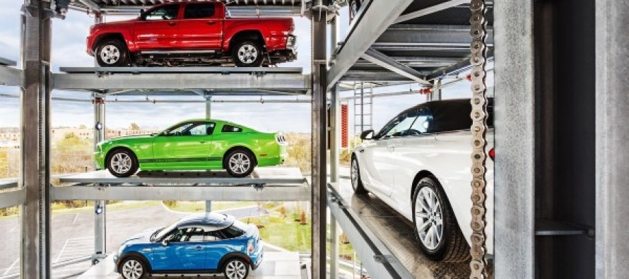 There's A Five-Story Vending Machine Dispensing Used Cars In Nashville