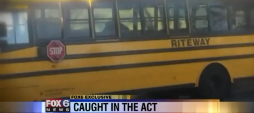 Bus Driver Caught on Tape Having SEX in School Bus [VIDEO]