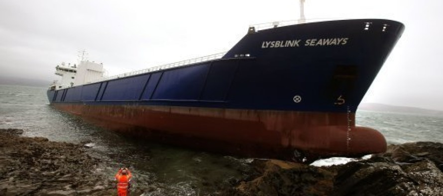 Russian Sailor Drinks Half A Liter Of Rum Before Crashing 7,000-Ton Ship Into Scotland