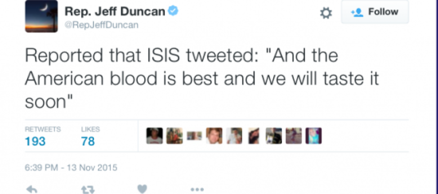 """Report: ISIS: """"American Blood Is The Best And We Will Taste It Soon"""""""