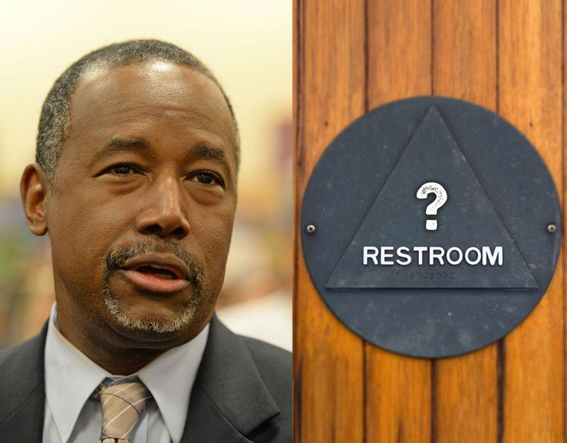 ben carson trans bathroom