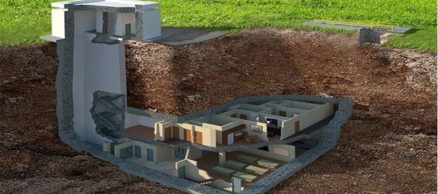 PHOTOS: Only privately-owned underground bunker hits the market for $17.5 million