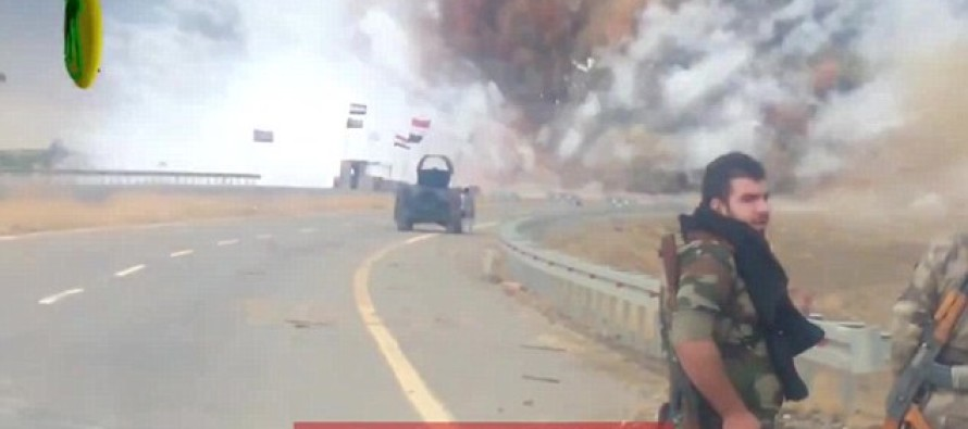 Humongous car bomb completely caught on video in Iraq