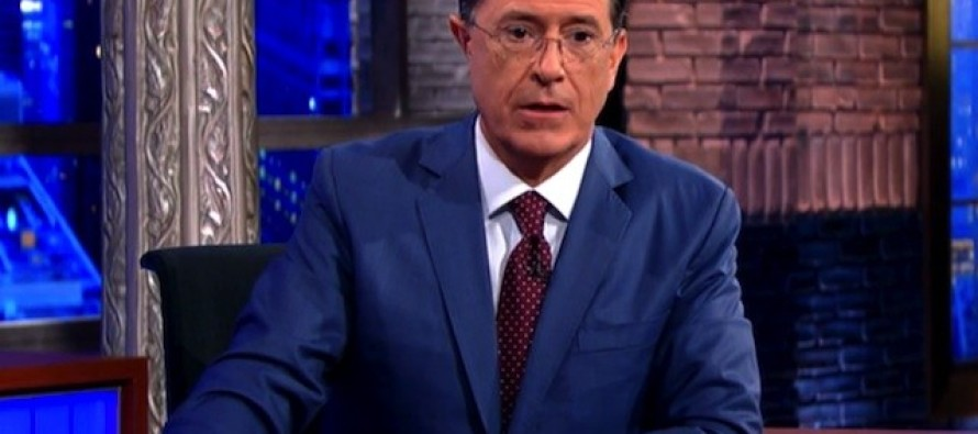 Colbert's Late Night Ratings Tank As Republicans Abandon the Show