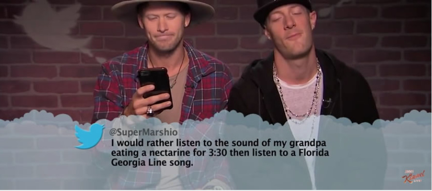 Mean Tweets – Watch country stars read horrendously harsh tweets about themselves