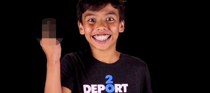 Nasty Kids in Amnesty Video Aimed at Donald Trump Saying 'F**K You, You Racist F**k'