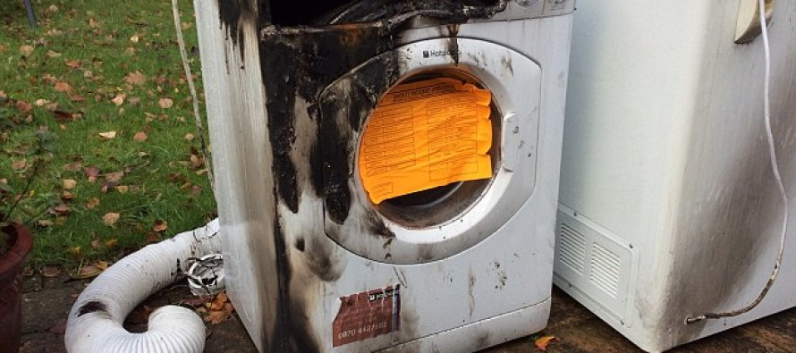 Why turning off your tumble dryer WON'T stop it burning your house down