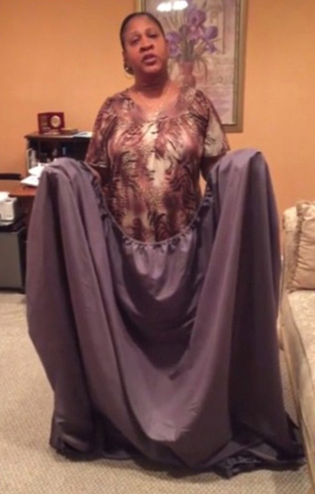 Woman films tutorial on how to fold bed sheets   Credit Jukin Media