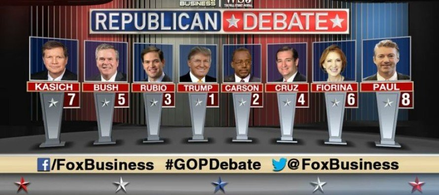 A Quick and Dirty Review of The Fox Business Debate