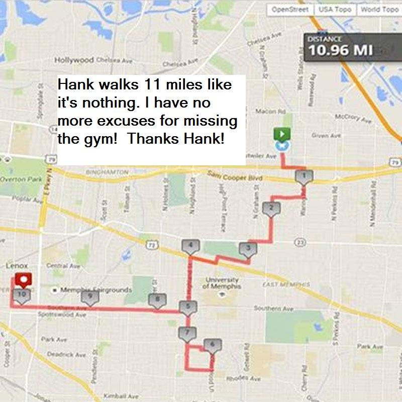 hanks walk