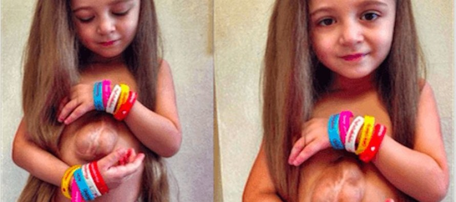 Darling 6-Year-Old Was Born With Her Heart Outside Her Chest