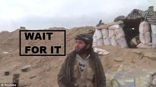 islamist rebel blown up