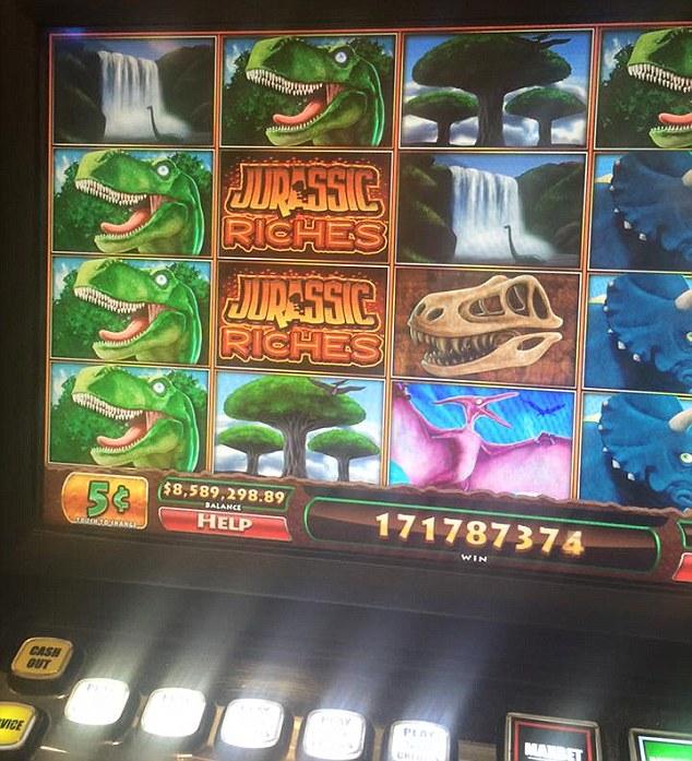 jurassic riches winnings ripoff