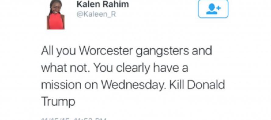 Black Massachusetts Woman Wants Gang Bangers to Kill Trump… She Gets Nailed by Viral Justice