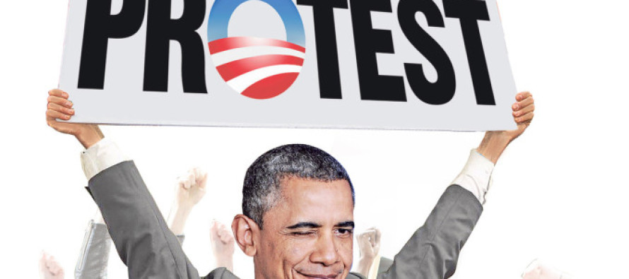More Important than ISIS: How Obama is bankrolling a nonstop protest against invented outrage