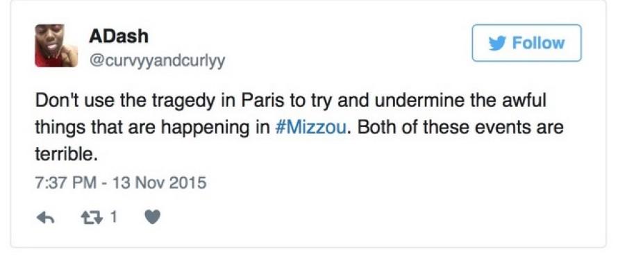 Furious Mizzou protesters complain that the Paris terror attacks stole their MEDIA SPOTLIGHT