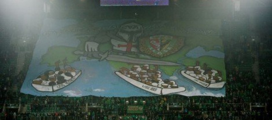 PHOTO: Polish Fans SHOCK The World With MASSIVE Banner At Soccer Game… Muslims Are FUMING!