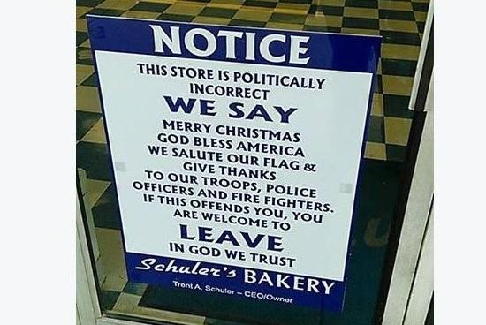 politically incorrect store