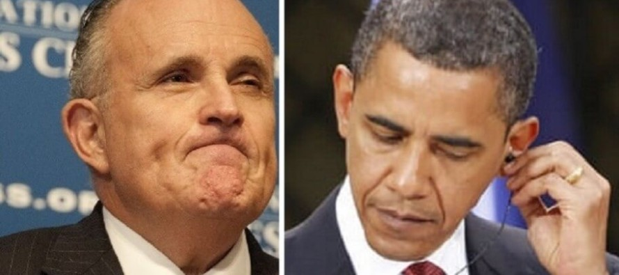 Giuliani Reveals EXACTLY What ISIS Is In 5 Words Obama Doesn't Want You To Hear