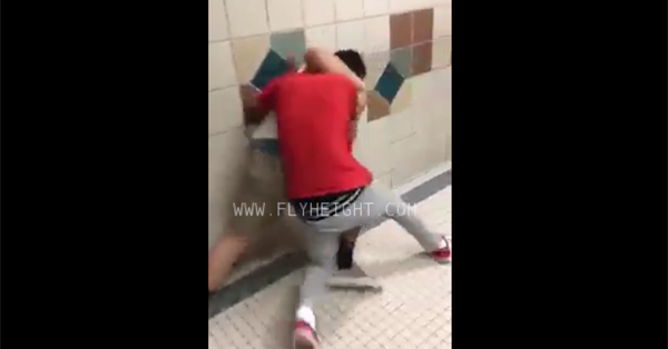 VIDEO: One on One High School Fight Ends with a Brutal Finish