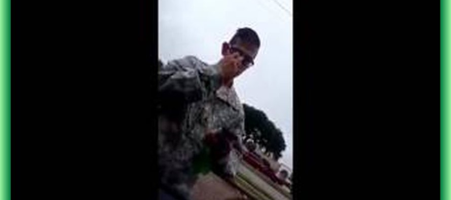 "BOOM! : Stolen Valor In Houston, Texas, Fake Sniper Tries To ""Recruit"" A Veteran [Video]"