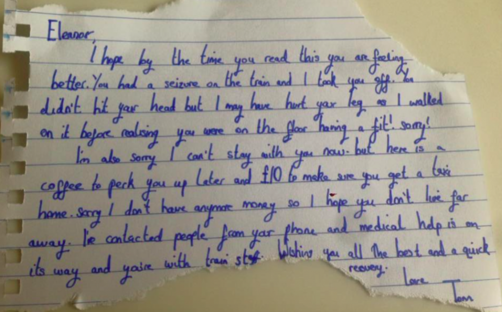 stranger_leaves_note_for_woman_who_suffered_a_fit_on_train_1