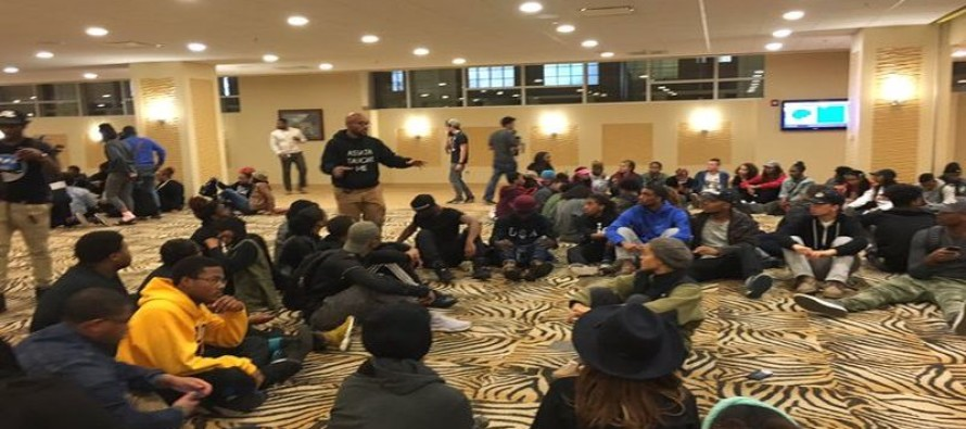 'Black Only Healing Space' Created  By Mizzou Demonstrators By Segregating White Allies