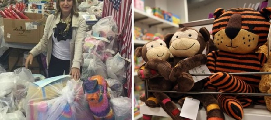Philanthropist Buys Entire Toy Store to Give to Homeless Children