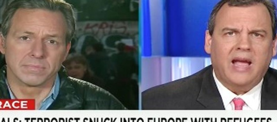 Chris Christie SNAPS at Jake Tapper Over Refugees [Watch]