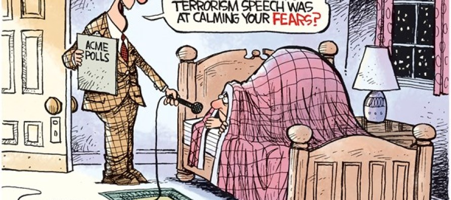 Terror Speech (Cartoon)