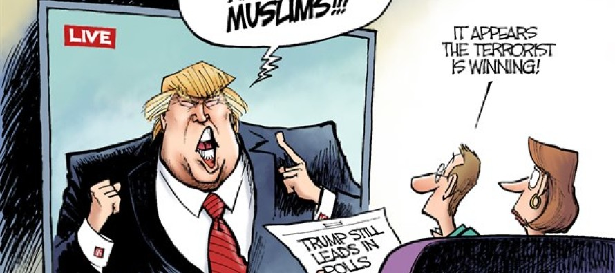 Trump Terror (Cartoon)