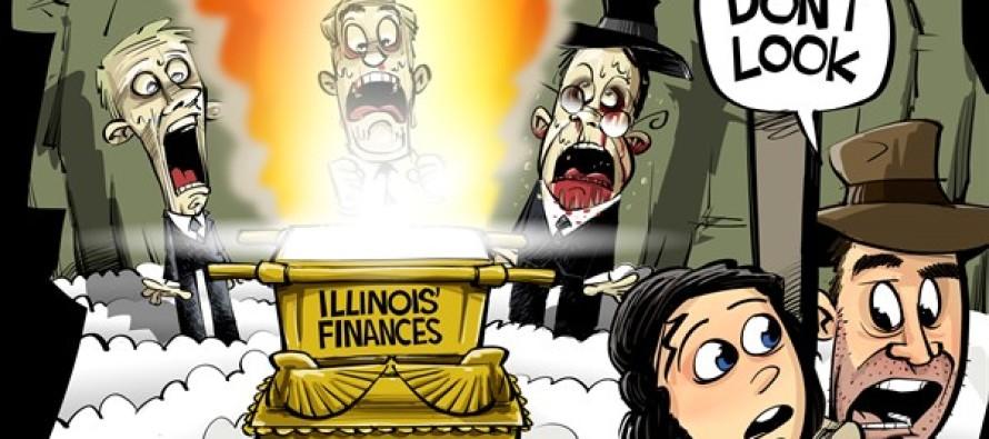 ILLINOIS budget mess (Cartoon)