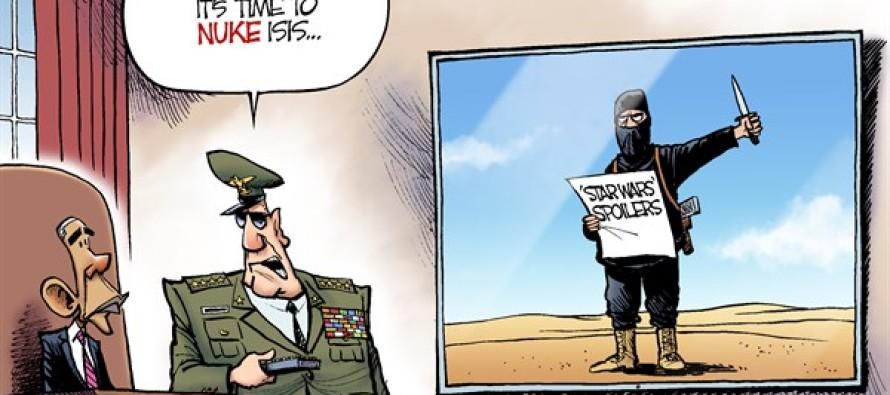 More ISIS Terror (Cartoon)