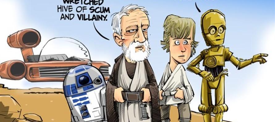 ILLINOIS Hive of villainy (Cartoon)