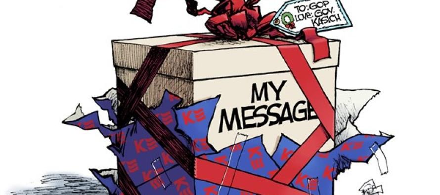 Kasich Christmas (Cartoon)