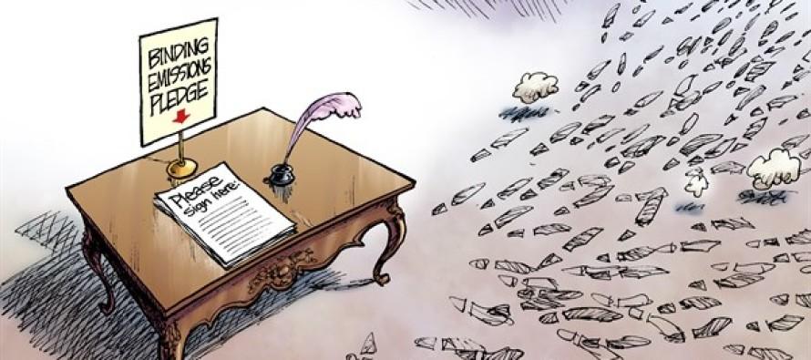 Carbon Footprints (Cartoon)