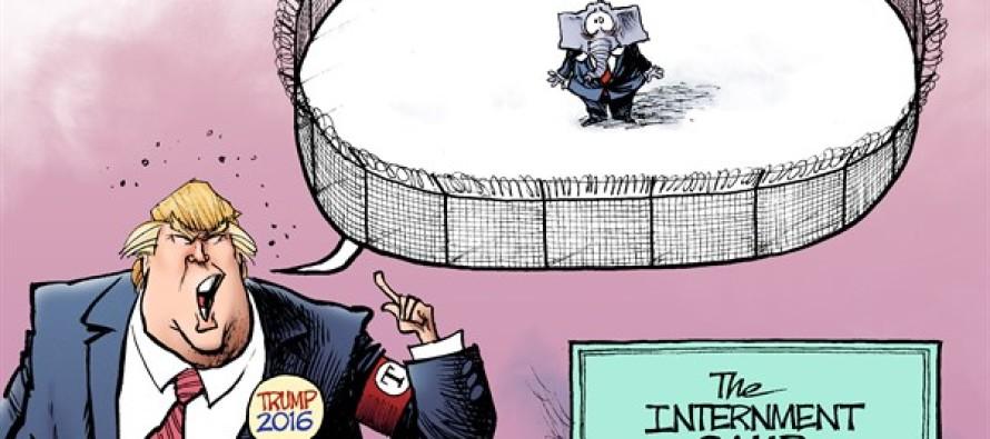 Trump Prisoner (Cartoon)