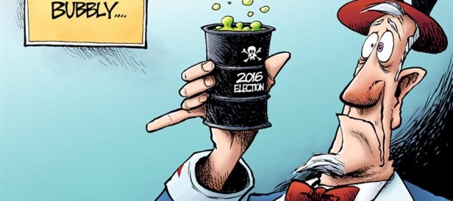 New Year 2016 (Cartoon)