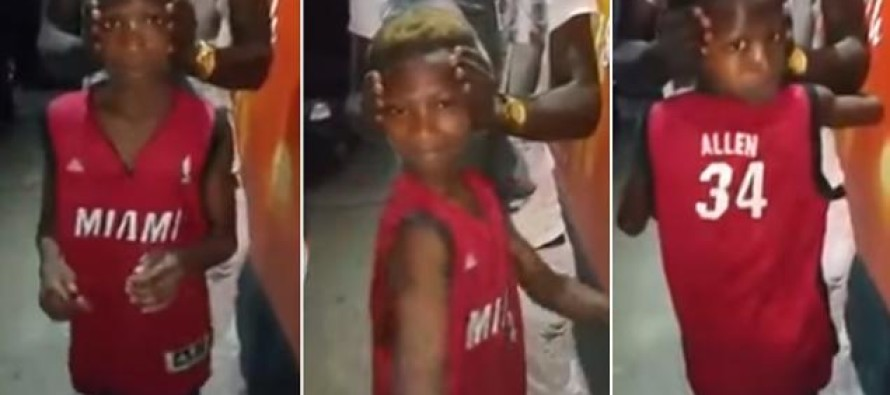 A Bizarre Video Shows a Boy Who Can Twist His Head Around 180 Degrees to Look Directly Behind Him