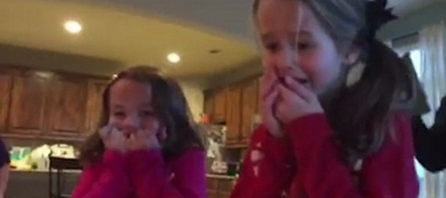 Sisters Shocked to Find THIS Under the Christmas Tree [PHOTOS]